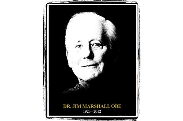 Rest in Peace Dr. Jim Marshall OBE