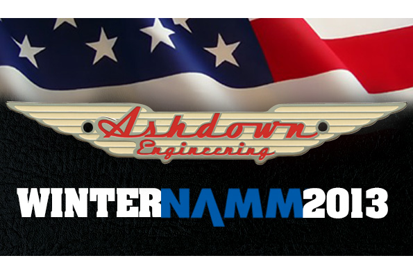 ASHDOWN @ WINTER NAMM