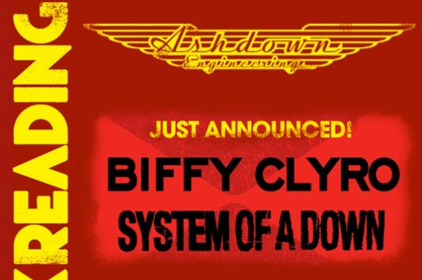 Biffy Clyro & System of a Down @ Reading 2013
