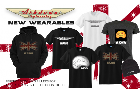 Ashdown have launched NEW Merch