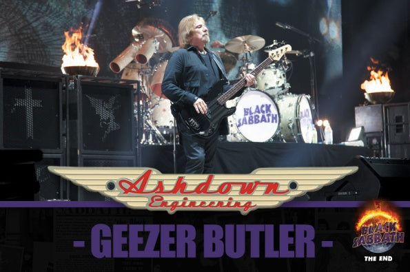 Geezer Butler & Ashdown built for 'The End' and beyond...