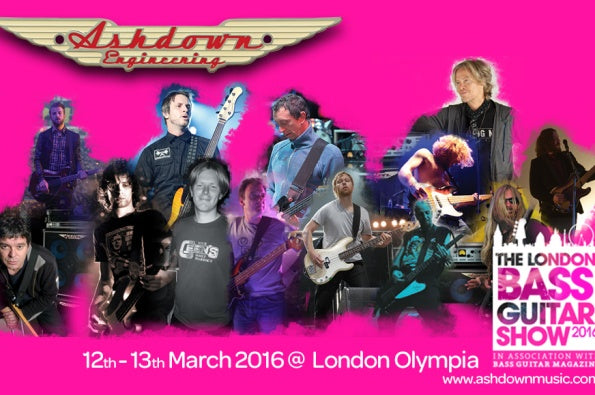 See us at the 2016 London Bass Guitar Show