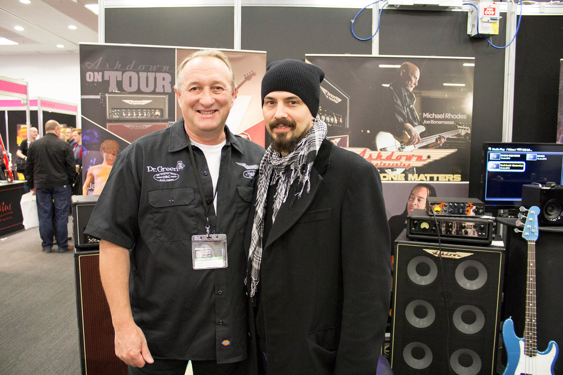 Great seeing you all at the London Bass Guitar Show 2016