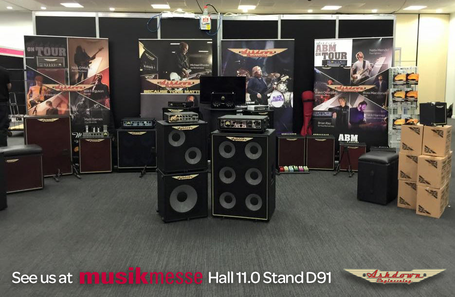 See Ashdown at Frankfurt Musikmesse 2016