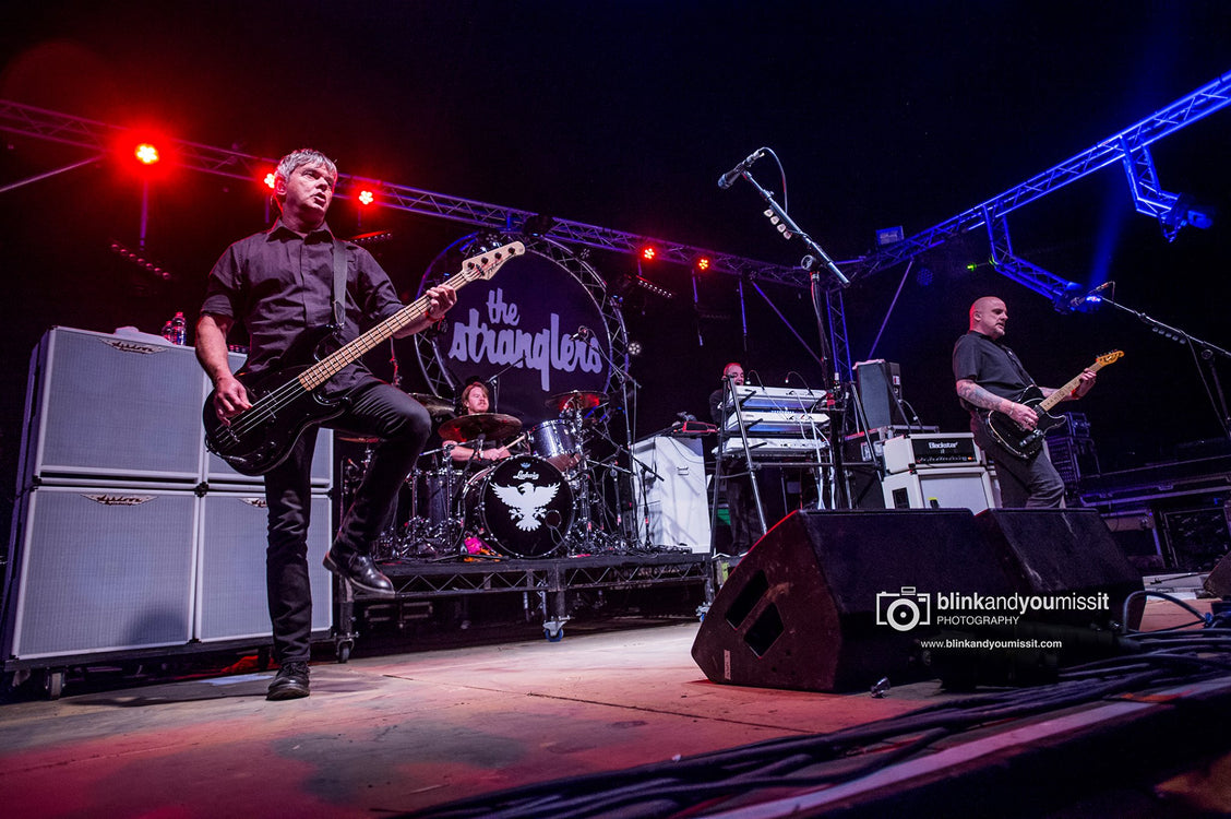 The Stranglers take to the road.