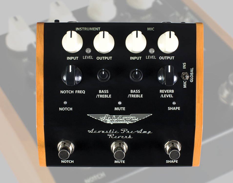 New for Summer NAMM: Acoustic Pre-Amp Reverb Pedal
