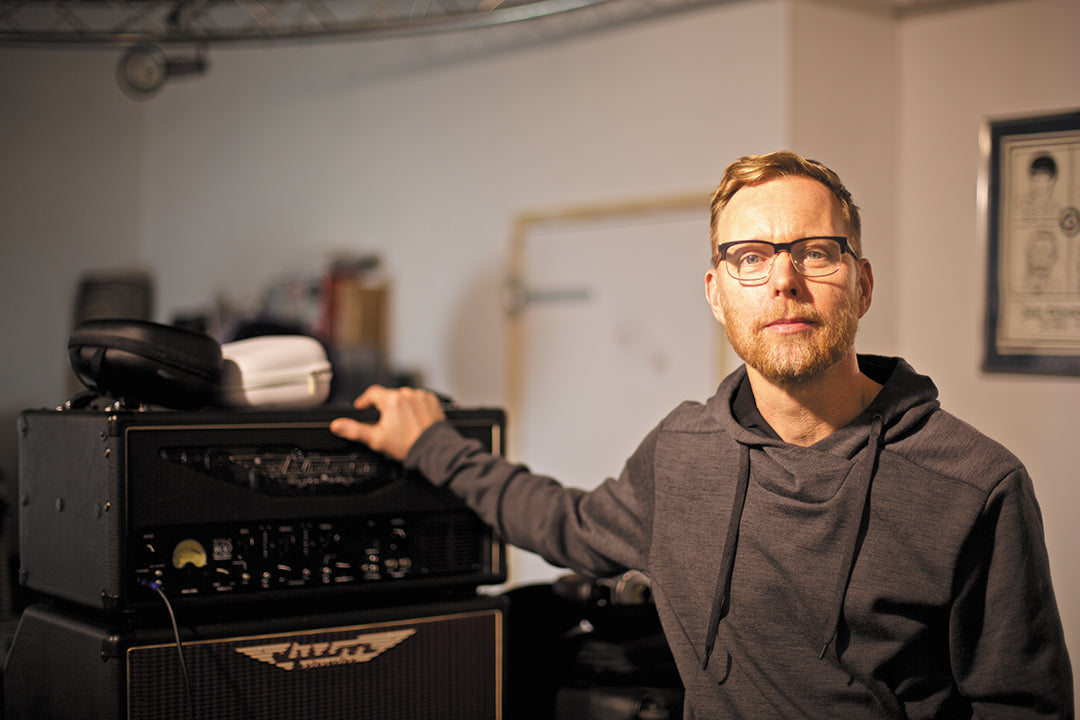 Nate Mendel visits Ashdown HQ