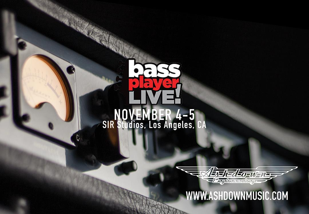 See us at Bass Player Live 2017