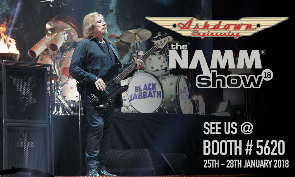 See us at NAMM 2018
