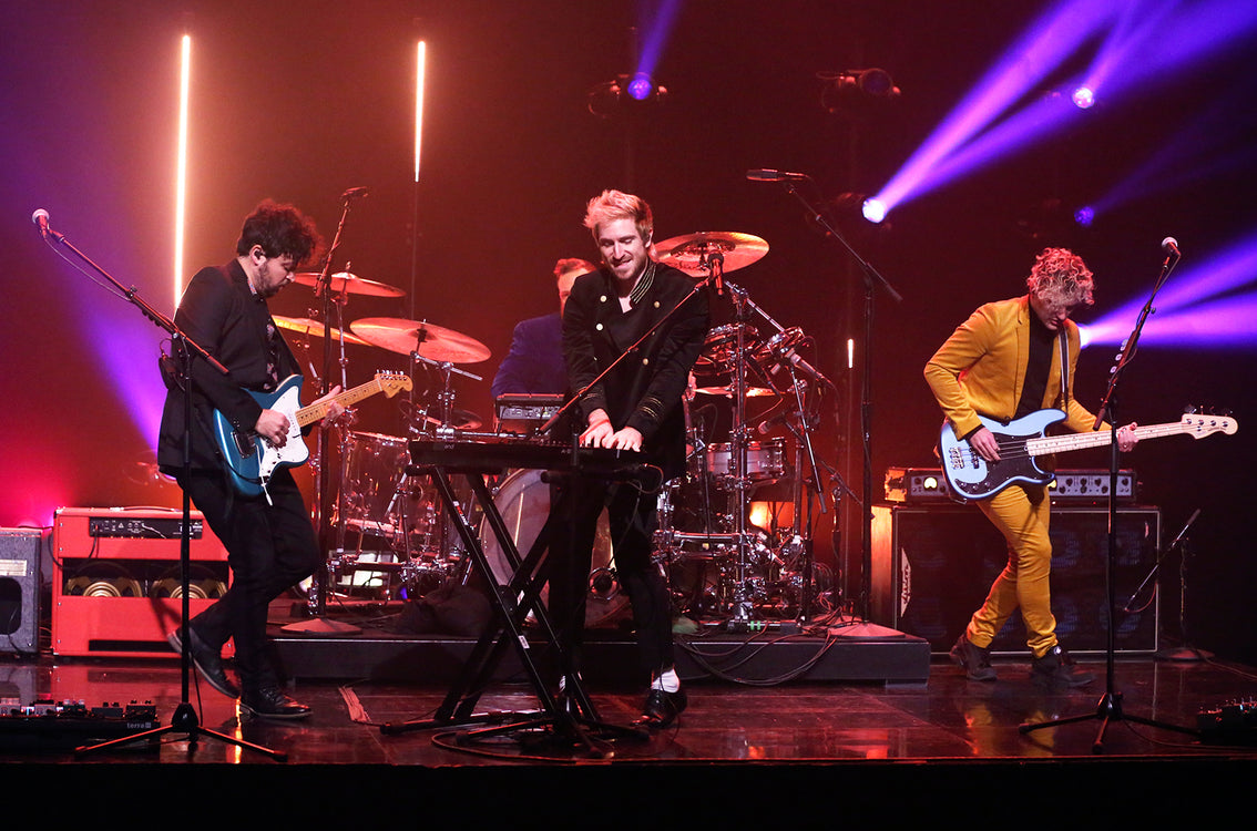 Walk the moon on the 'Tonight Show'