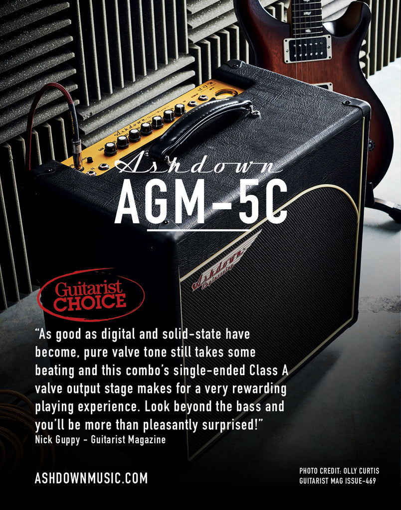 Ashdown AGM 5C Guitarist Choice Award