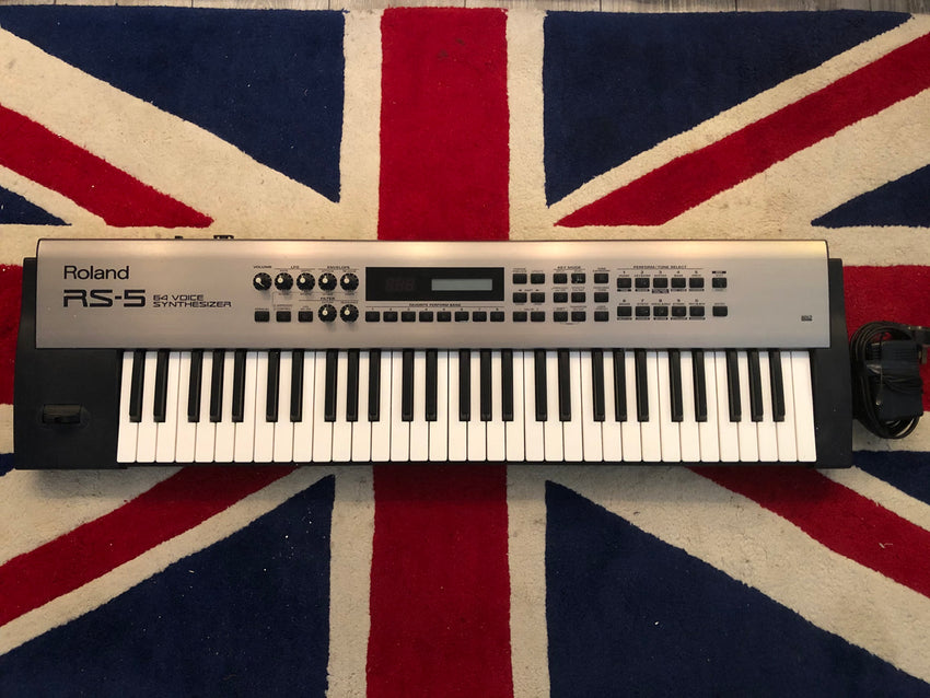 Roland RS-5 64 Voice Synth 61 key