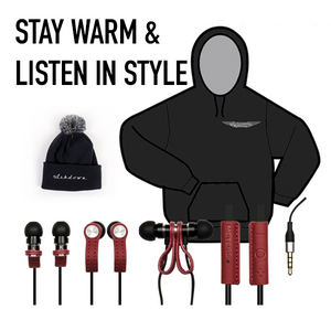 Stay warm & listen in style winter bundle