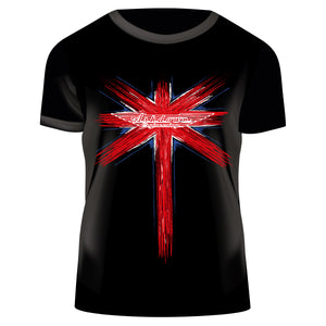 Ashdown Union Jack Black T-Shirt