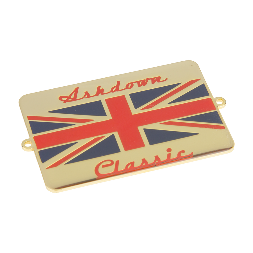 Ashdown Classic Union Jack Badge