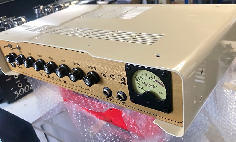 Ashdown 484-H - 30w All Valve Head - UK Custom Shop - Old English Cream
