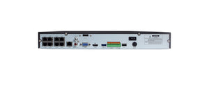 Infilux 8-Channel NVR Back