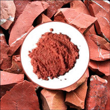 Natural mineral-based colorants