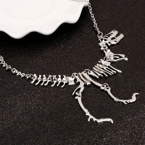 Unique T Rex Skeleton Pendant With Necklace *Limited Stock*