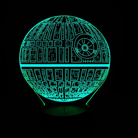 Ultimate Star Wars Death Star LED Light *Limited Supply*
