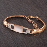 Fashion Gold Color  Austrian Crystal Bracelet