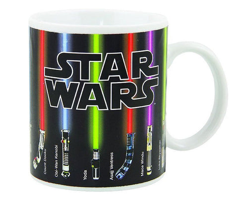 Incredible Star Wars Lightsaber Heat Reveal Mug