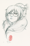 Mei || Original Sketch