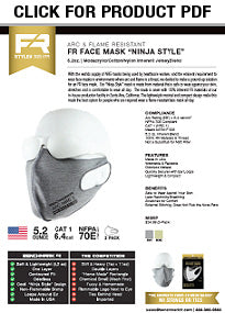 fr facemask spec sheet