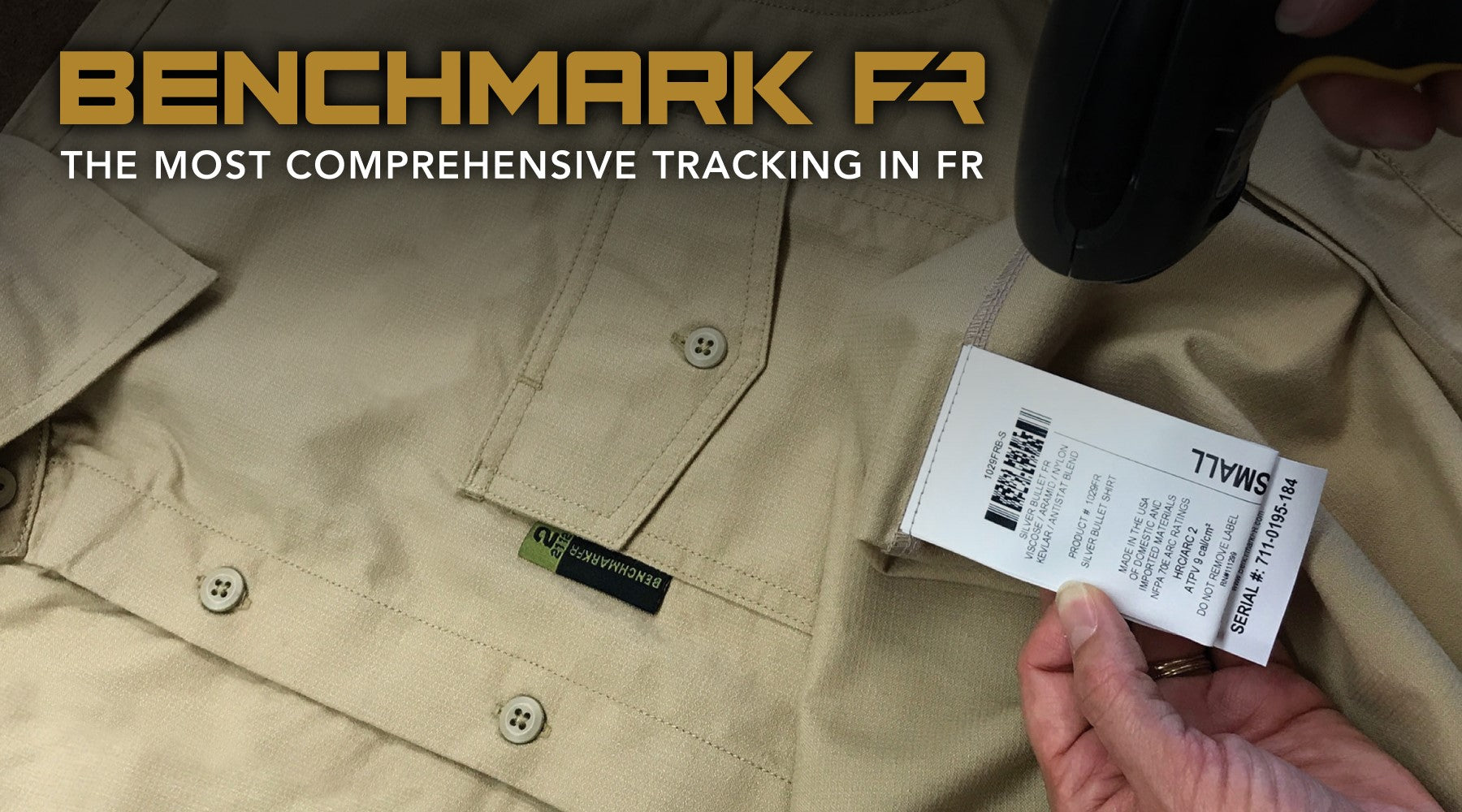 benchmark fr serial numbers banner graphic