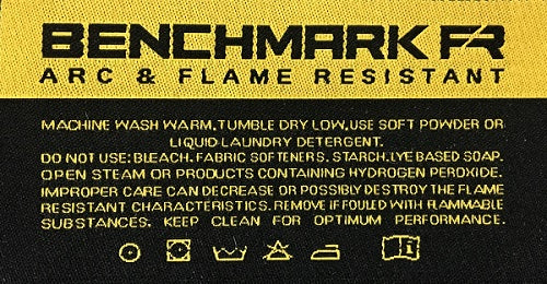 benchmark fr care label
