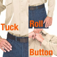 tuck roll and button fr shirts