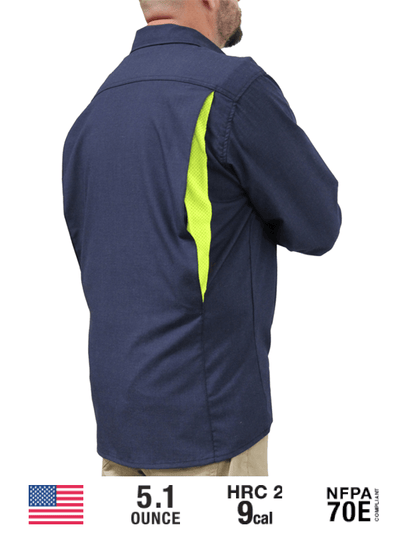 "Flame Resistant ""Juddy"" Vented Shirt"