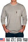Benchmark FR Plain Flame Resistant T-Shirt W/Front Pocket