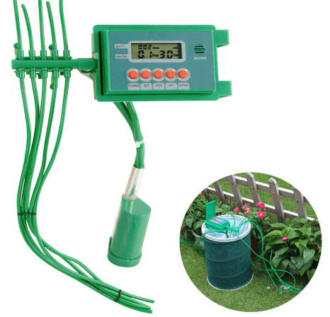 Automatic Plant Watering & Irrigation System Via Timer controller
