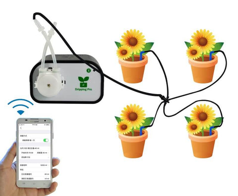 Automatic Plant Watering & Irrigation System Via Smartphone