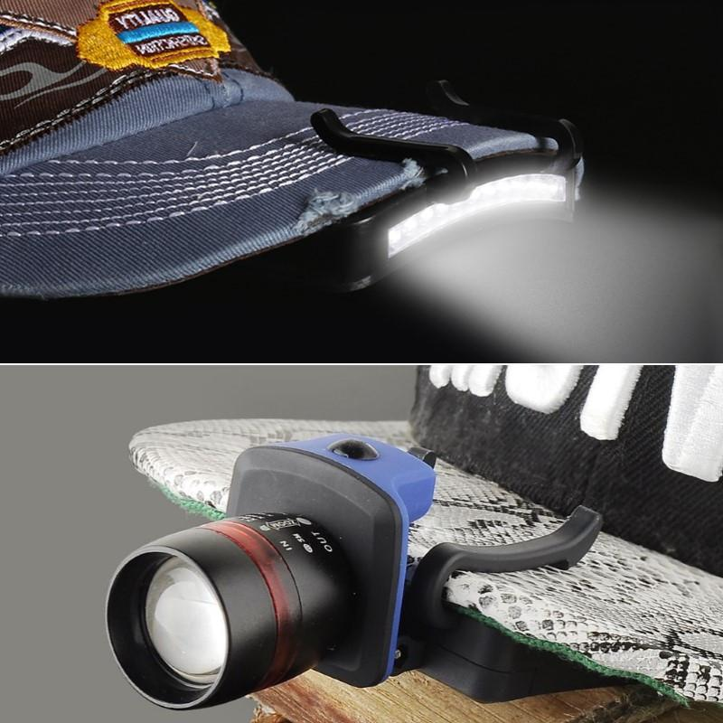 Electrika™ - LED Clip Lamp on Hat & Cap - 2 New Models 2017