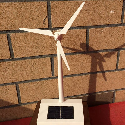 Electrika™ - Mini Wind Turbine & Solar Power Kit
