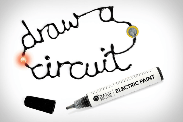 Exclusive Electric conductive Paint - No More Soldering & Wiring