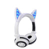 Glory® -  BLUETOOTH LED CAT EAR HEADPHONES (Wireless & Rechargeable) - 2017 Glowing and Flashing
