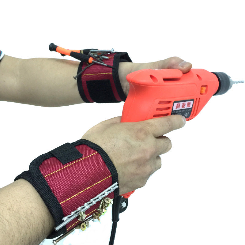 Tension Free™ Magnetic Wristband for Repairing Works & Tools