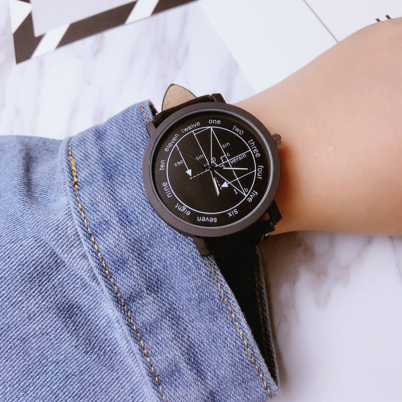 Math Watch - New Design for Math & Engineering Lovers