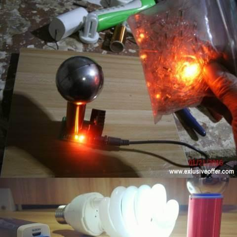 Mini Tesla Coil (Micro) Amazing Flashing Generator Project