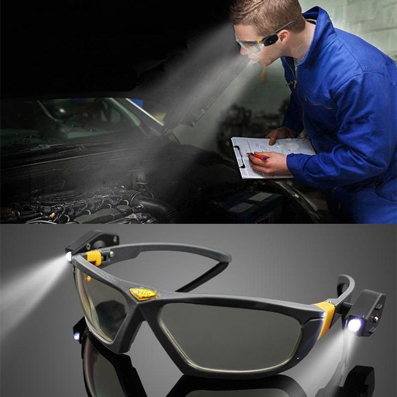 Electrika™️ LED Light Safety & Anti-fog Goggles