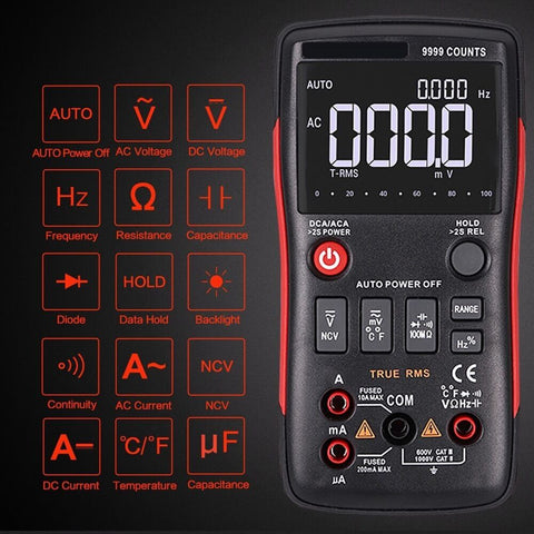 Numerous® - Digital Multimeter - 15+ Testing Features - Free Shipping