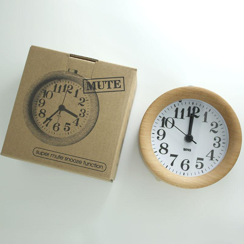 The Antique Wooden Alarm  Clock - Exclusive Offers