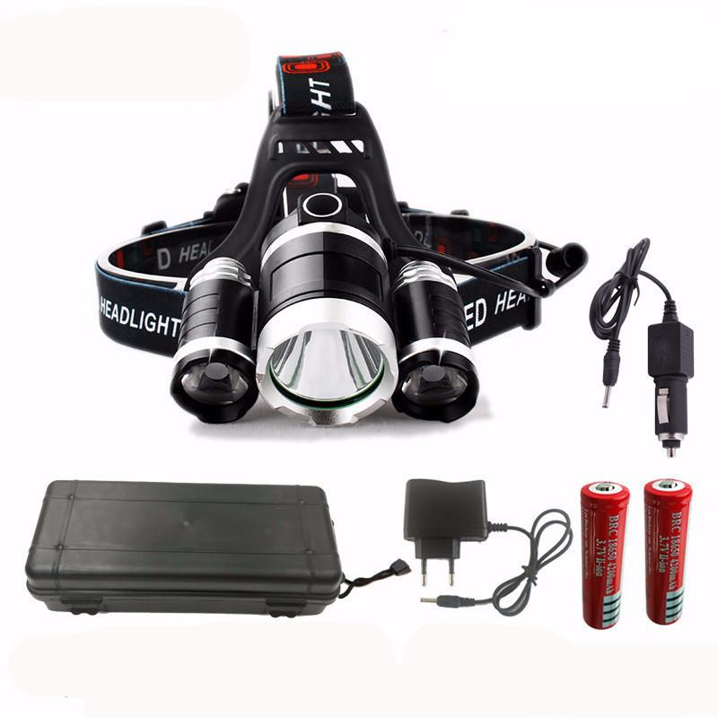 Electrika™ : Exclusive LED Headlamp & Headlight - All in 1 Box