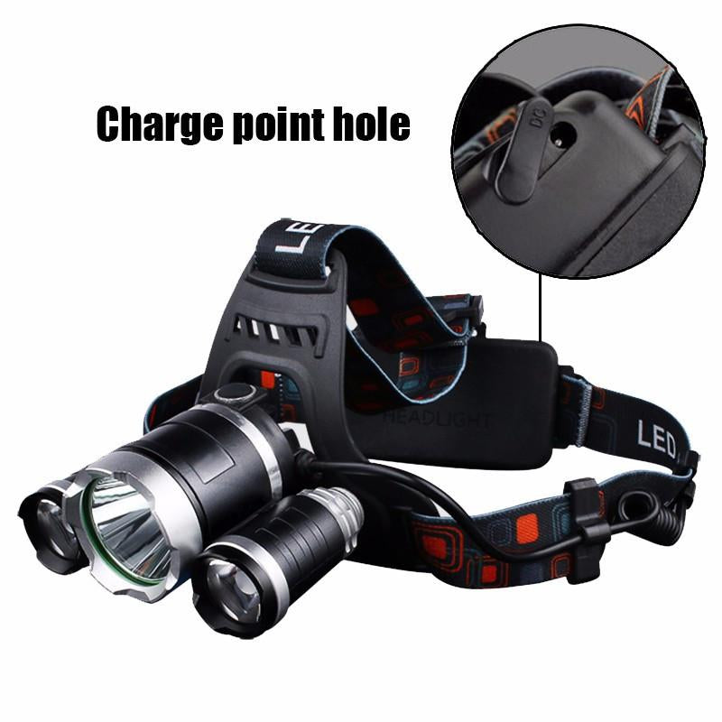 Exclusive LED Headlamp & Headlight - All in 1 Box