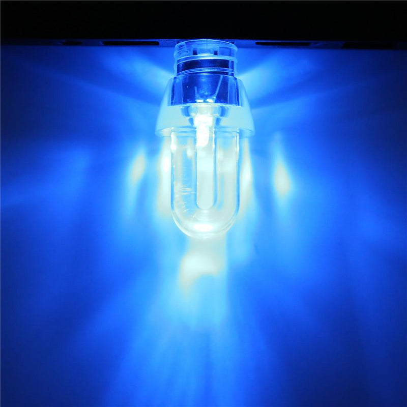 Exclusive Blue Light USB Bulb - Flash Drive - 4 Shapes