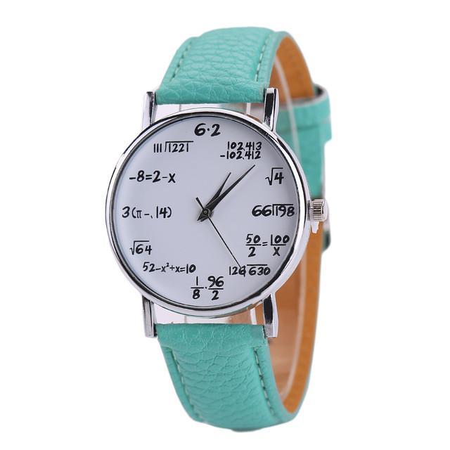 Perfect Math Watch for Engineers & Math Lovers! - Free Shipping