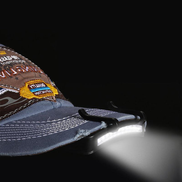 Electrika™ - LED Clip Lamp on Hat & Cap - 2 New Models